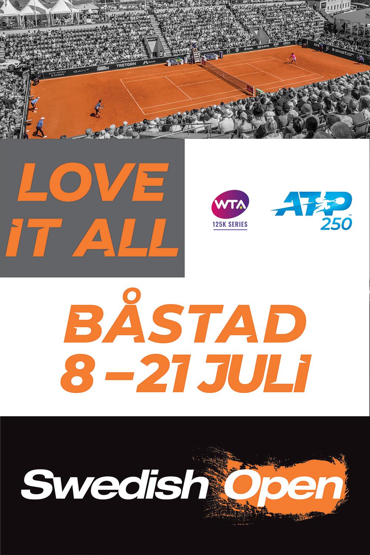 Välkomna till Swedish Open 15–21 juli 2019   Biljetterna